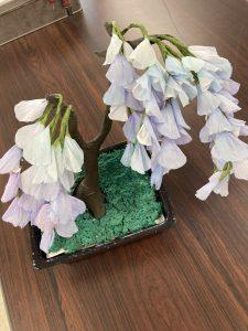 藤の盆栽(小道具)
